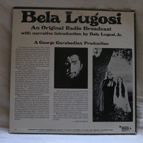 Bela Lugosi still