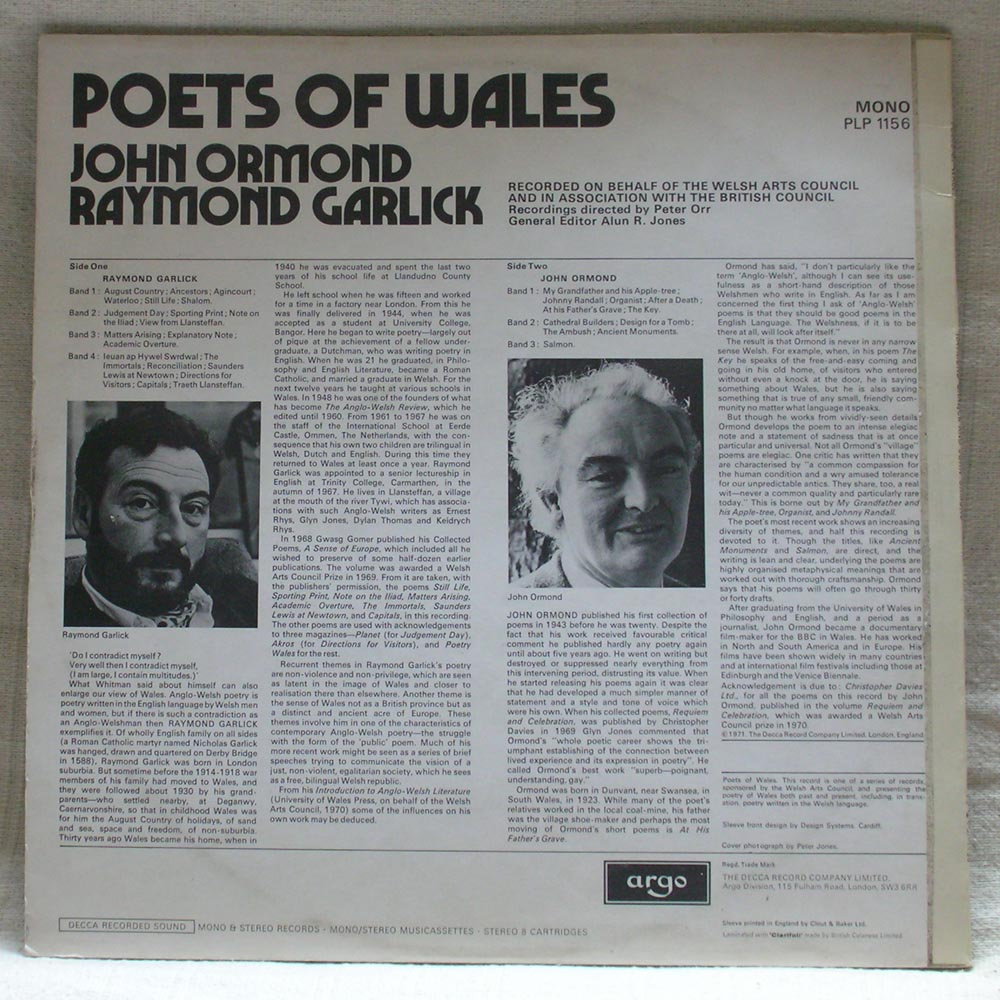Poets Of Wales cover